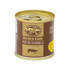 Pieninio paršiuko ir anties kepenėlių paštetas SELECTOS DE CASTILLA, 95 g