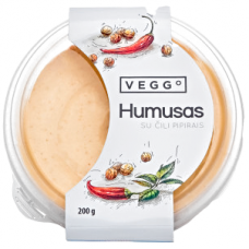 Pikantiškas humusas su čili pipirais, 200 g