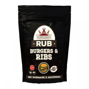 """Garšvielu maisījums """"Burgers & Ribs RUB"""", 200g"""