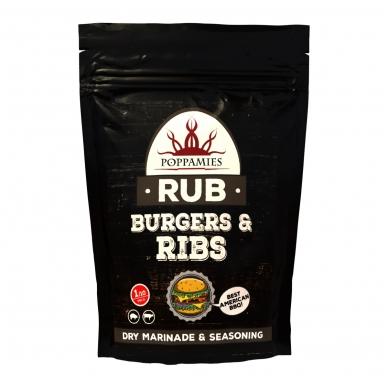"""Prieskonių mišinys """"Burgers & Ribs RUB"""", 200 g"""
