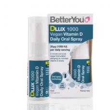 Purškiamas augalinis vitaminas D, BetterYou 15ml