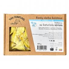 Rankų darbo koldūnai su keturiais sūriais, Van Dumpling, 450 g