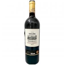 Raudonas vynas Dulong Merlot-Cabernet Bordeaux AOC, 12,5% alk. tūrio, 0.75 l