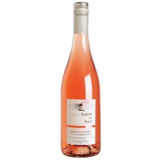 Rožinis vynas Pierre Chainier Baron de Poce Rose d'Anjou AOP, 10,5% alk. tūrio, 0.75 l