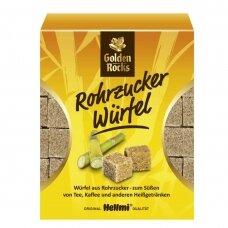 Rudo cukranendrių cukraus kubeliai,  Rohroh-Wurfelzucker, 500g