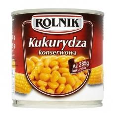 Saldūs konservuoti kukurūzai, 340 g, (gr.k. 285 g)