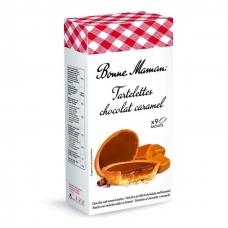 Sausainiai Tartaletės su šokolado-karamelės įdaru, Bonne Maman, 135 g