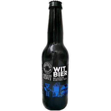 Sakiškių alus Witbier, 0.33 l