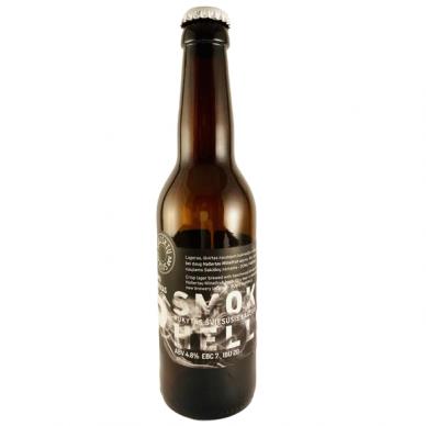 Sakiškių Smoked Helles (Rūkytas šviesusis lageras), 0.33 l