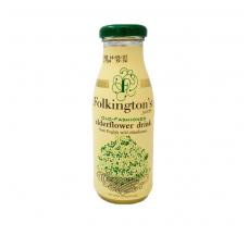 Šeivamedžio žiedų gėrimas FOLKINGTON'S, 250 ml