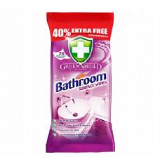 Servetėlės vonios kambariams valyti, Green Shield 70vnt