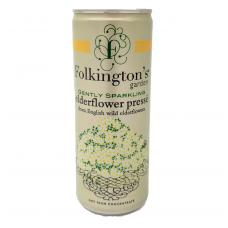 Silpnai gazuotas šeivamedžio žiedų gėrimas FOLKINGTON'S, 250 ml