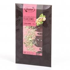 RUBY ir juodasis 75 % šokoladas su pistacijomis, 100 g