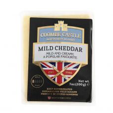 Švelnaus skonio baltasis čederio sūris Coombe Castle, 200g