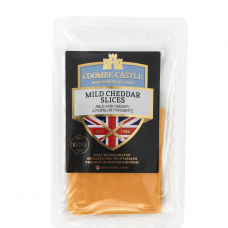 Švelnaus skonio spalvotas čederio sūris Coombe Castle, 100 g