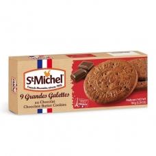 Sviestiniai, šokoladiniai sausainiai Galettes, St. Michel, 150 g