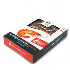 Šviežios krevetės, blyškiosios baltakojės (280 g, 17/25)