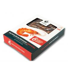 Šviežios krevetės, blyškiosios baltakojės (500 g, 17/25)