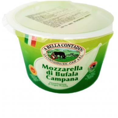 Šviežias sūris Mozzarella iš buivolių pieno La Contadina,  rieb. 52%, 200g 2