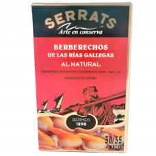 """Valgomosios širdutės """"Berberechos"""" 30/35 SERRATS, 115 g"""