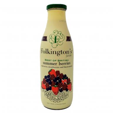 Vasaros uogų gėrimas FOLKINGTON'S, 1 l