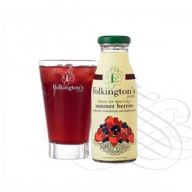 Vasaros uogų gėrimas FOLKINGTON'S, 250 ml 2