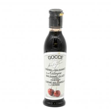 Vyšnių skonio balzaminis kremas GOCCE, 220 g