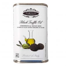 Ypač tyras alyvuogių aliejus su juodaisiais trumais (triufeliais) TARTUFI JIMMY, 250 ml, sk.